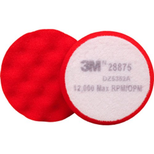 3M™ - Bonnets & Pads, Overall Diameter - in- 3-3/4, Product Type- Buffing Pad, Bonnet/pad Material- Foam, Maximum Rpm- 12000.000 - CA of 50