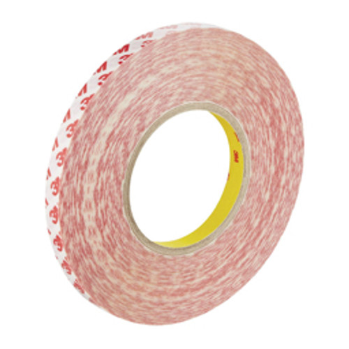 3M™ - Double Sided Tape, Material Family- Polyester Film, Length Range- 36 yds - 71.9 yds, Width - Mm- 19.00, Width - in- 0.75, Adhesive Material- Acrylic, Thickness - Mil- 8.0000 - CA of 15