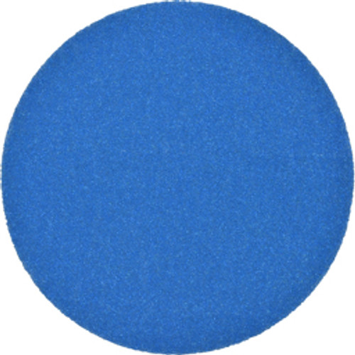 3M™ - Adhesive-Backed/PSA Discs, Disc Diameter - in- 5, Abrasive Material- Ceramic Aluminum Oxide, Grit- 40, Tooling Compatibility- Disc Sanders, Backing Material- Paper, Disc Color- Blue - 25/PK - CA of 5