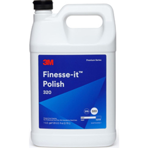 3M™ - Buffing & Polishing Compounds, Material Application- Finishes, Metal, Compound Type- Polishing Compound, Color- Blue, Compound Grade- Fine, End Use Operation- Polished, Scratch Removal - blue - CA of 4