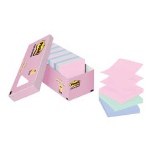 3M™ - Self adhesive note paper - Post-It® Notes Greener Pop-Up Notes - 3in. x 3in. - PK of 18 BX
