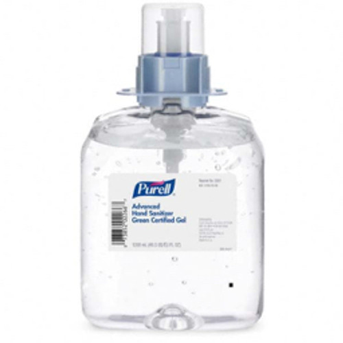 Purell® - 1,200 Ml Dispenser Refill Gel Hand Sanitizer Fragrance Free, for Cleaning Hands - 10.69in. x 7.69in. x 9.12in.