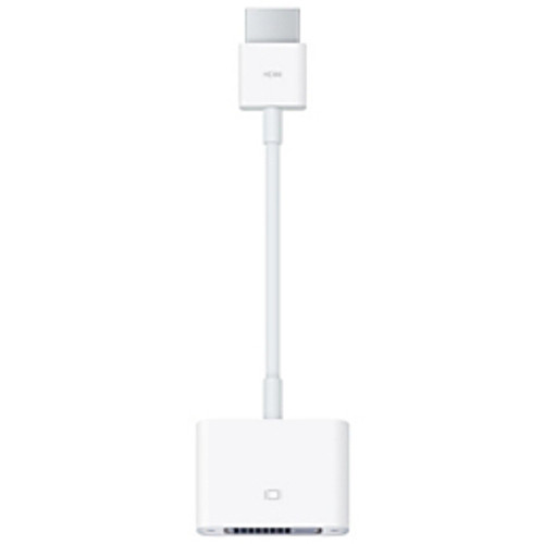 Apple - Adapter - HDMI to Dvi Adapter - Apple HDMI to DVI Adapter