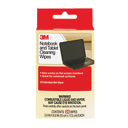 3M™ - Tech Wipes - Notebook Screen Cleaning Wipes - PK of 24