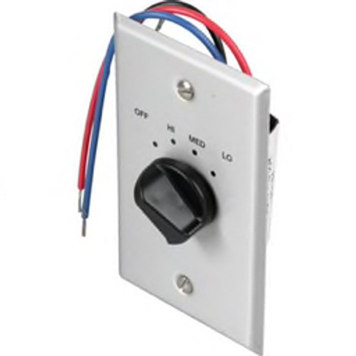 First Company® - Hvac Wall Switch - 120v 3-Speed Wall Switch