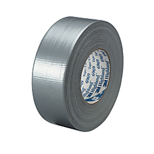 """3M™ - Duct Tape - 6969 Duct Tape 2"""" x 60 yds Silver - PK of 3 RL"""