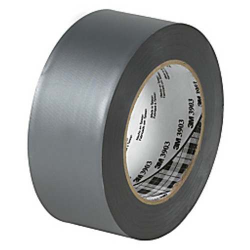 """3M™ - Duct Tape - 3903 Duct Tape 2"""" x 50 yds Silver - PK of 3 RL"""