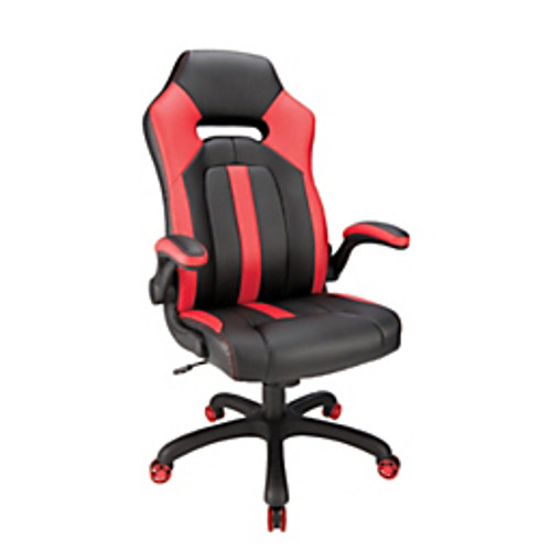 Realspace® - Gaming Chair - High-Back Gaming Chair - Height Range- 46 1/4 - 50in. x 46-1/4in. x 50in. x 30in. x 50in. h x 26-3/4in. w x 26-9/16in. d