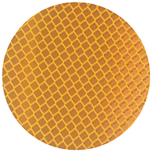 """3M™ - Labels - 989 Reflective Labels - Label, Reflective, Cir, 3"""", Amber - PK of 50"""