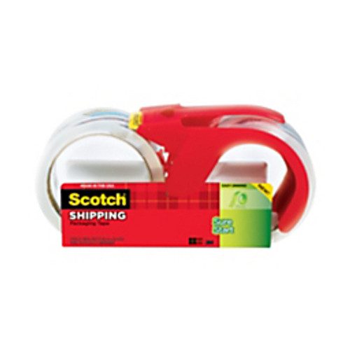 Scotch™ - Packing Tape - Sure Start Shipping Tape with Dispenser - PK of 2