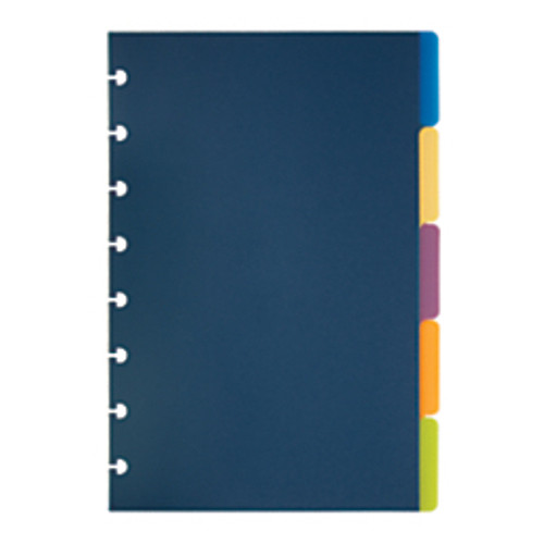 TUL® - Expansion Disc - Custom Note-Taking System Discbound Tab Dividers - 5-1/2in. x 8-1/2in. - PK of 5