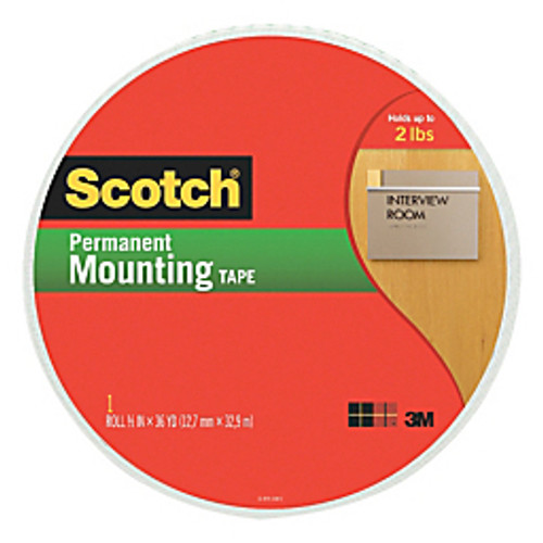 Scotch™ - Adhesive mounts - Double-Sided Foam Mounting Tape