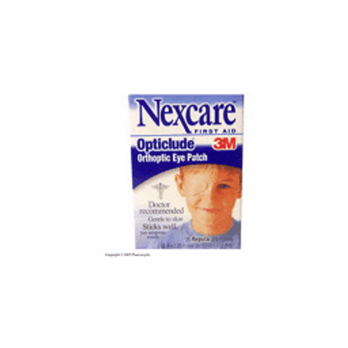 """3M™ - Eye Patch - Nexcare™ Opticlude Orthoptic Eye Patches Regular, 3-1/4"""" x 2-1/4"""" - PK of 20"""