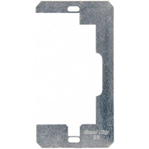 Thomas & Betts - Electrical Outlet Box - Electrical Outlet Box Steel Device Leveler Retainer - Silver