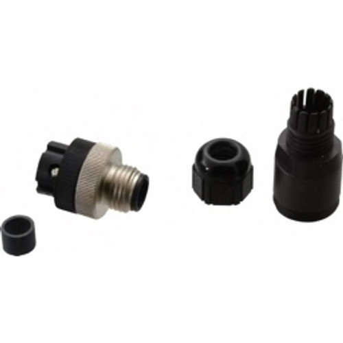 Brad Harrison® - Sensor Connector - 4 Amp, Male Straight Field Attachable Connector Sensor and Receptacle  7A3006-31