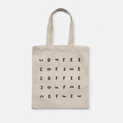 Pilot canvas tote bag back design