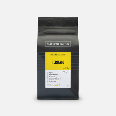 Heritage – Whole Bean coffee – our 'classic' signature blend