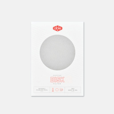 Able brewing disk filter
