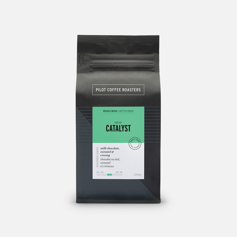 Catalyst (Decaf) – Whole bean coffee – our 'decaf' signature blend