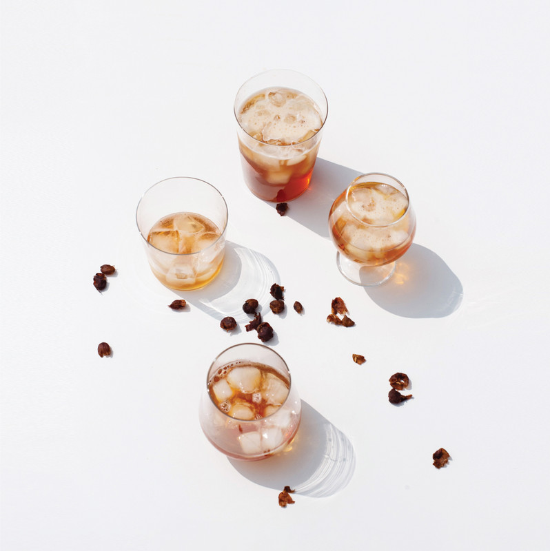 Cascara sparkling tea is on tap at PCR locations