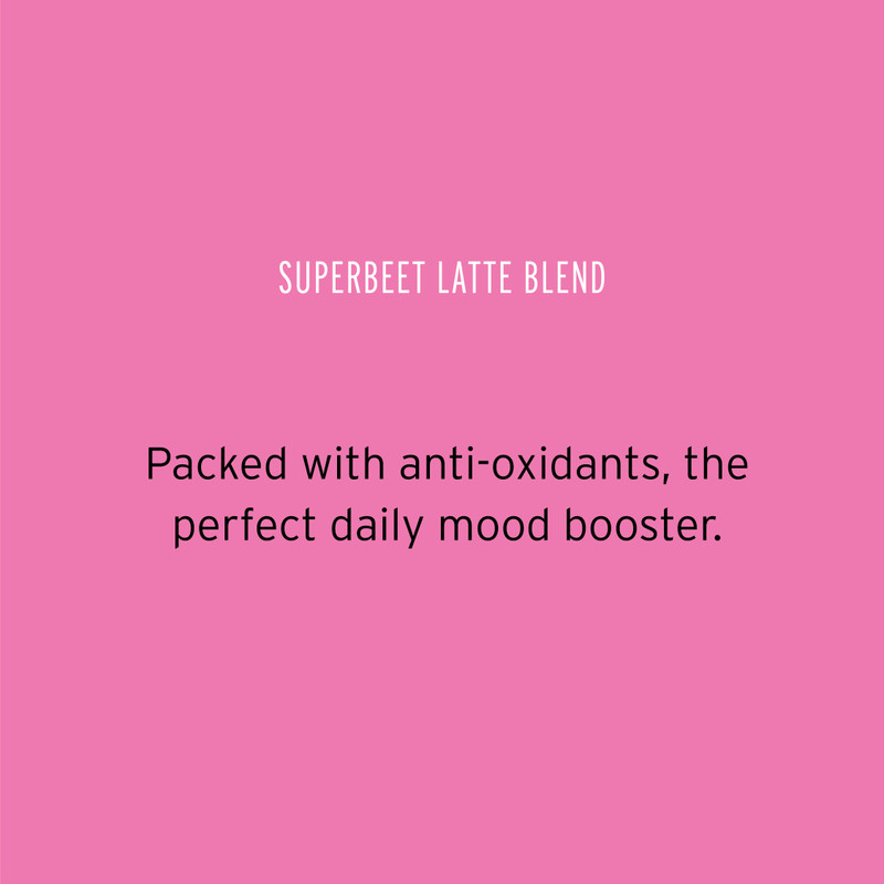 'Superbeet latte blend' by Pluck tea