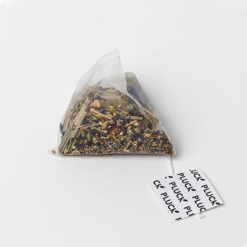 Pluck Tea – Sachet of 'VERBENA BLUES' Herbal tea sachets