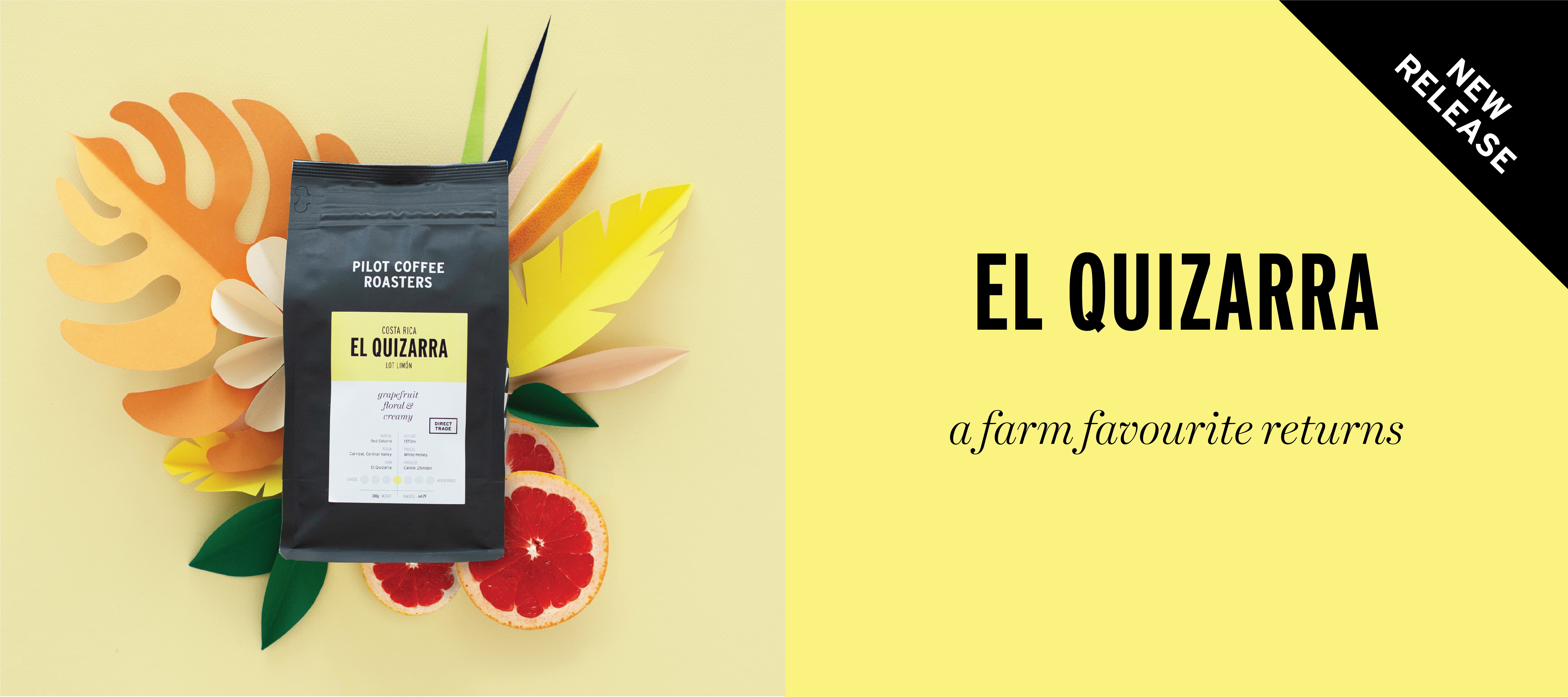 Just released a delicious new single origin coffee for the summer months