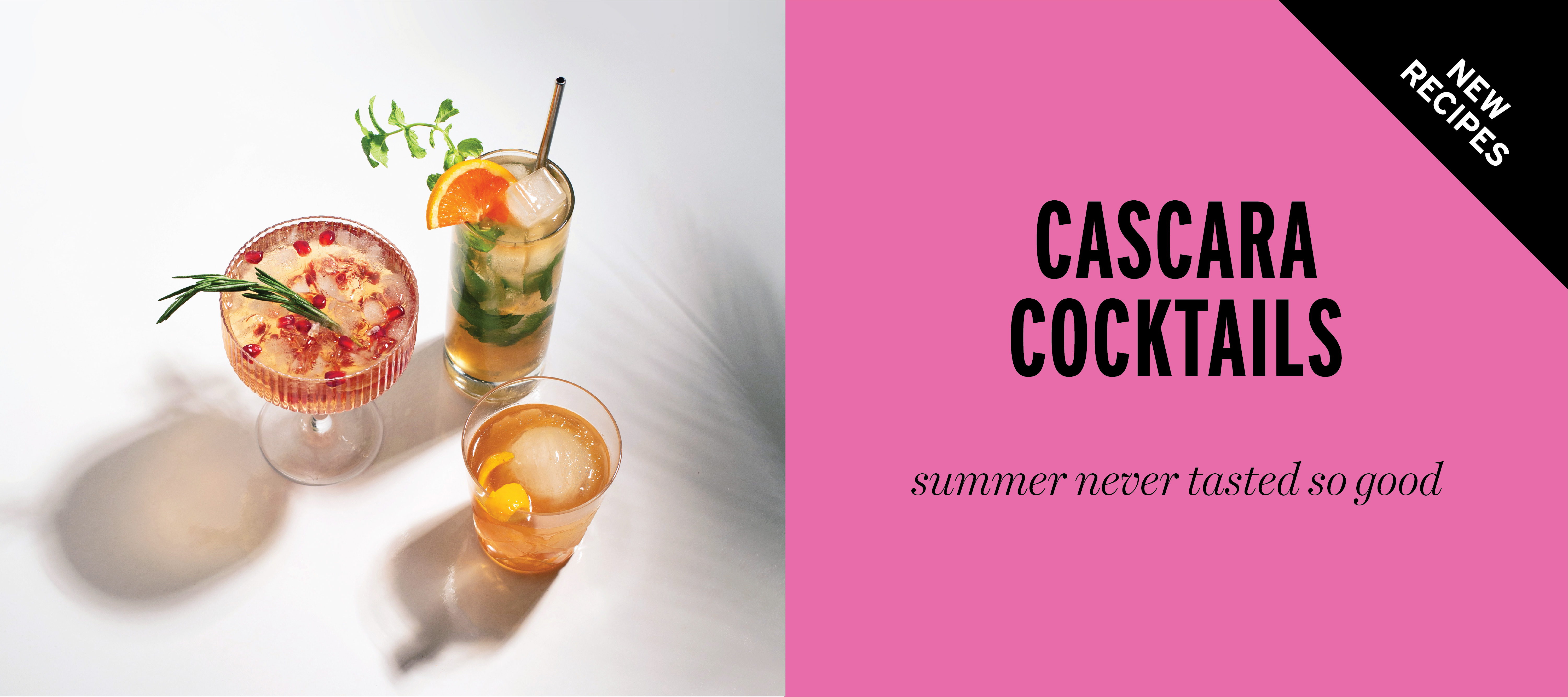 Cascara sparkling iced tea is a nutrient-rich super fruit, THE drink o the summer