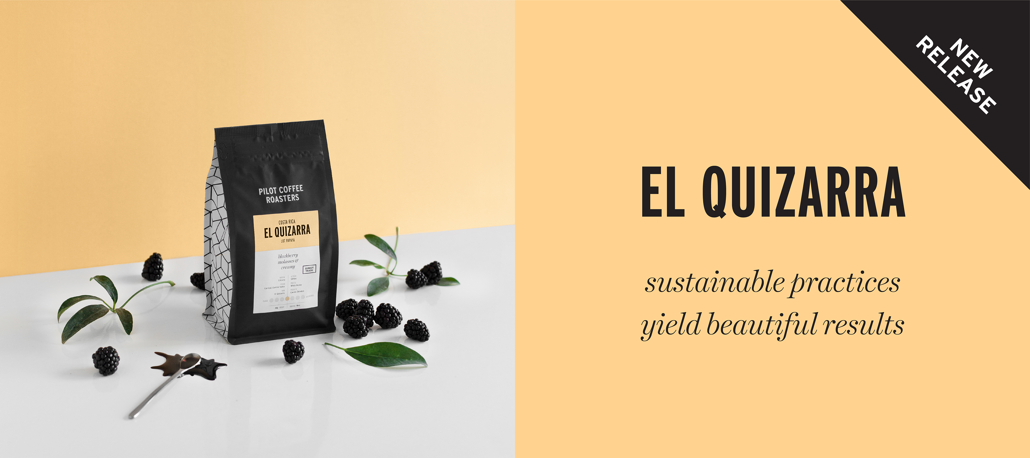 Newest release, El Quizarra from Costa Rica. Sustainable practices yield beautiful results