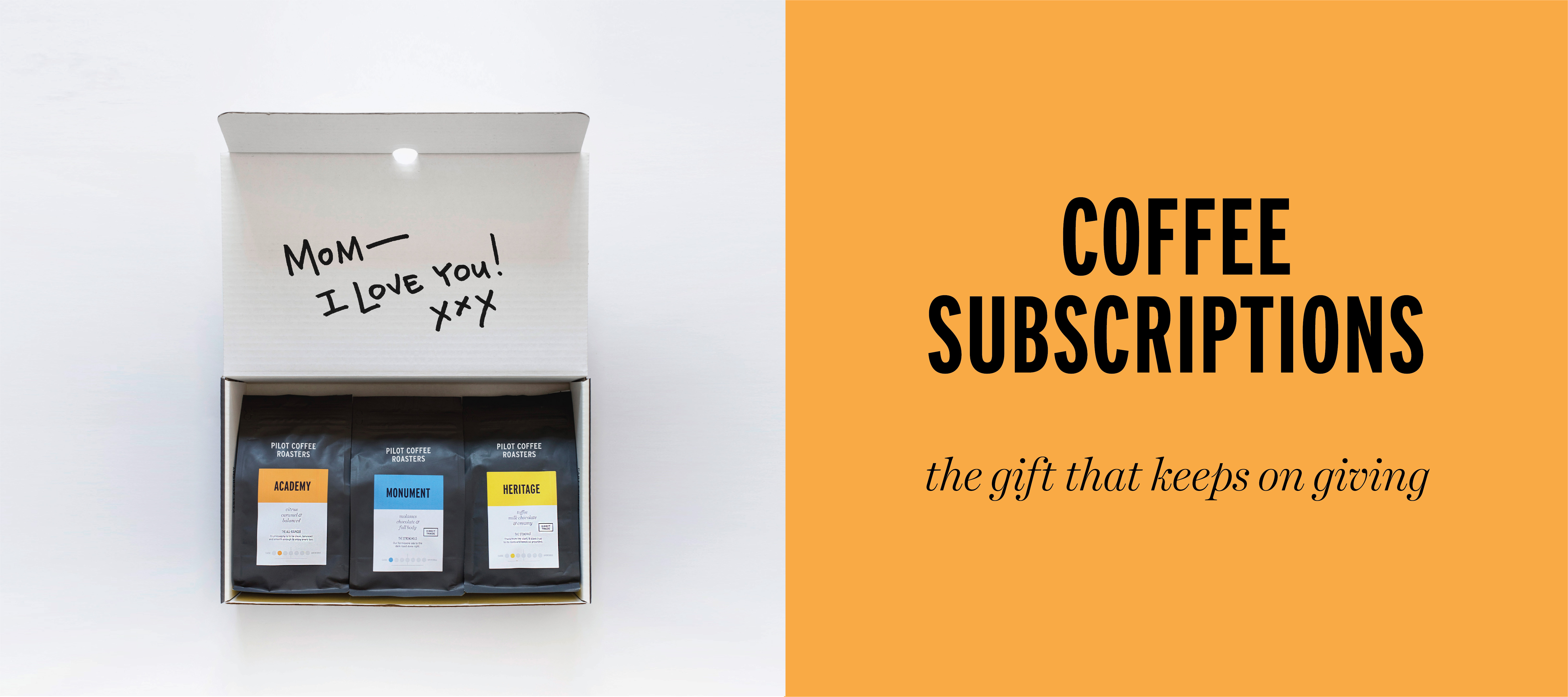 Coffee subscriptions, pre-paid and pay-as-you-go, flexible and convenient
