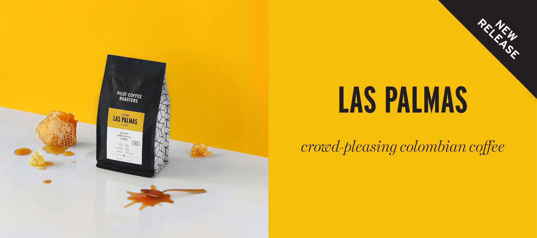 New release Las Palmas single origin coffee from Colombia