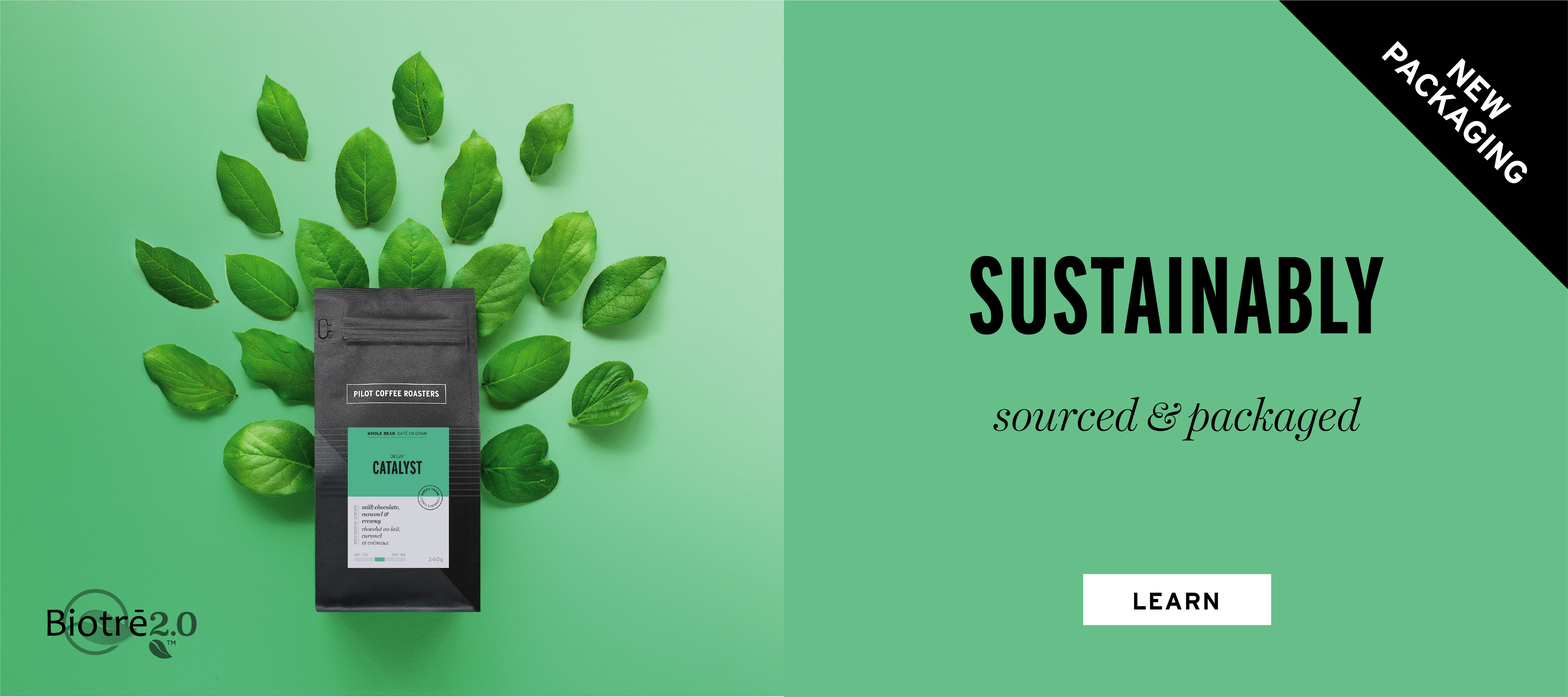 Introducing our new fully bilingual and sustainable packaging
