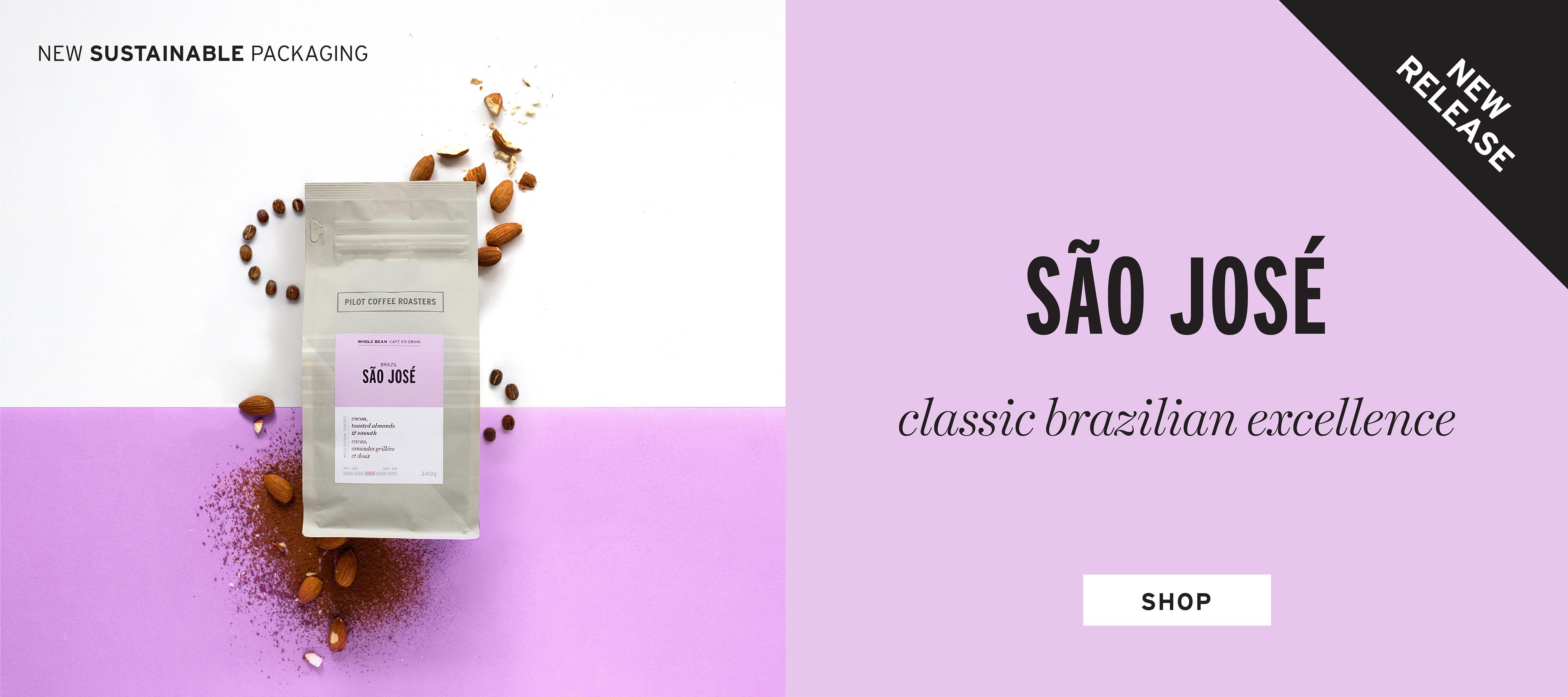 New release Sao Jose single origin coffee from Brazil