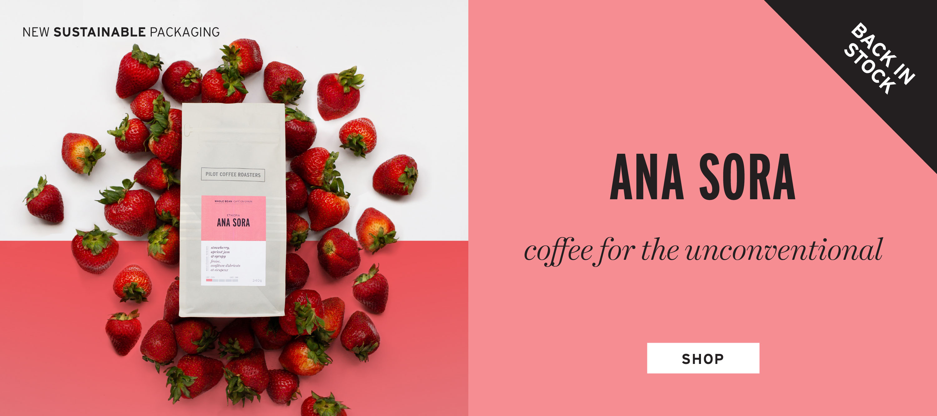 BACK IN STOCK! Ana Sora from Ethiopia has returned.