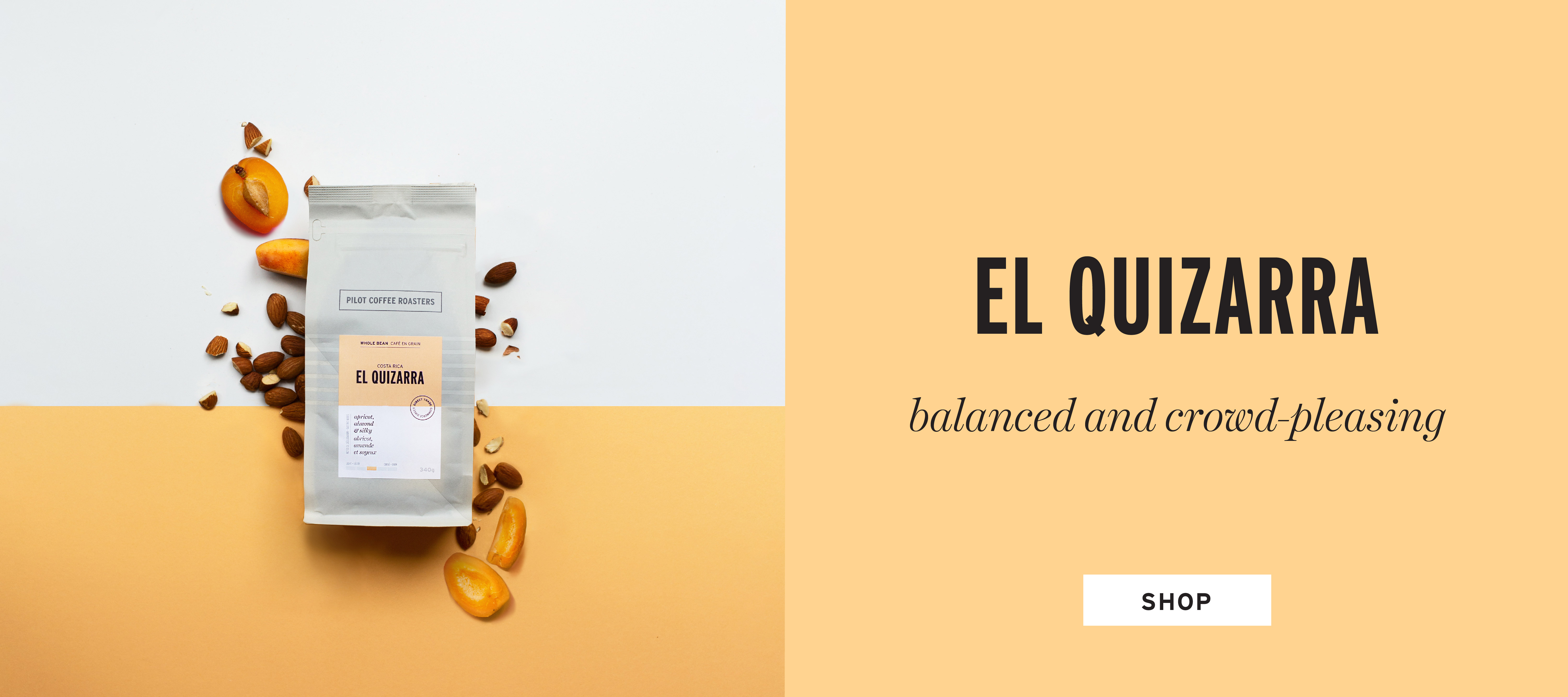 El Quizarra from Costa Rica. A sustainably grown single origin coffee that is honey processed resulting in a balanced and crowd-pleasing cup. Shop Now