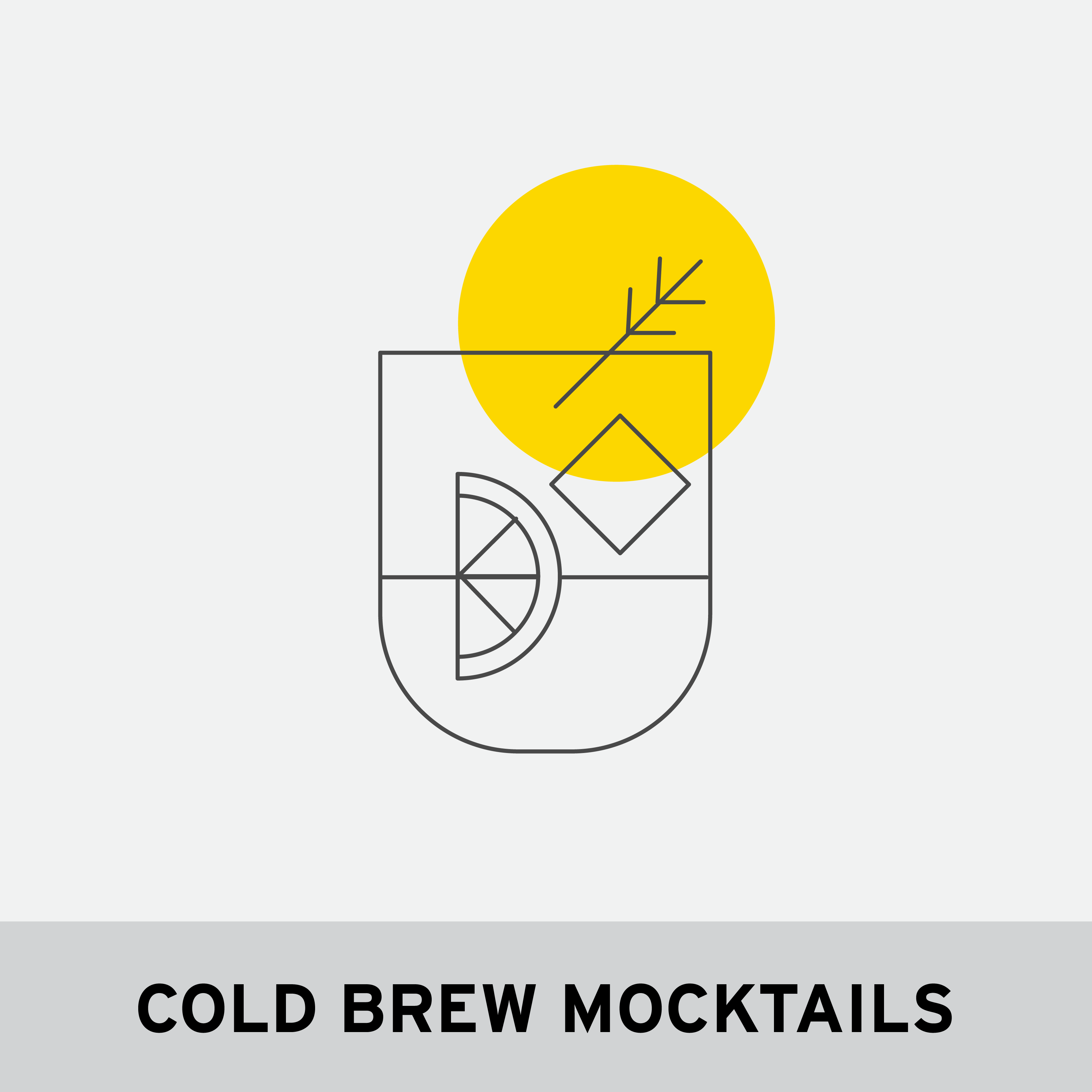 COLD BREW MOCKTAILS