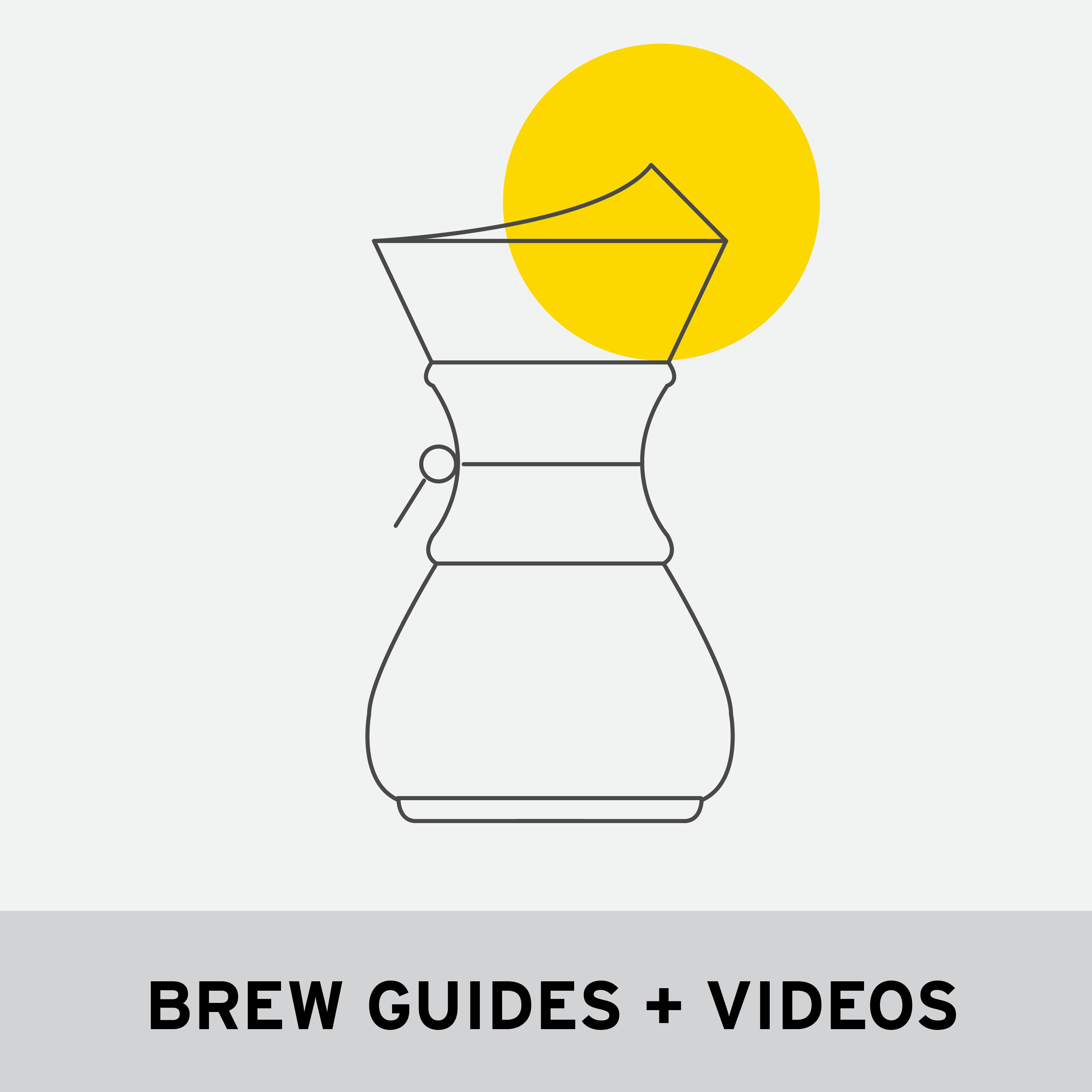 BREW GUIDES + VIDEOS