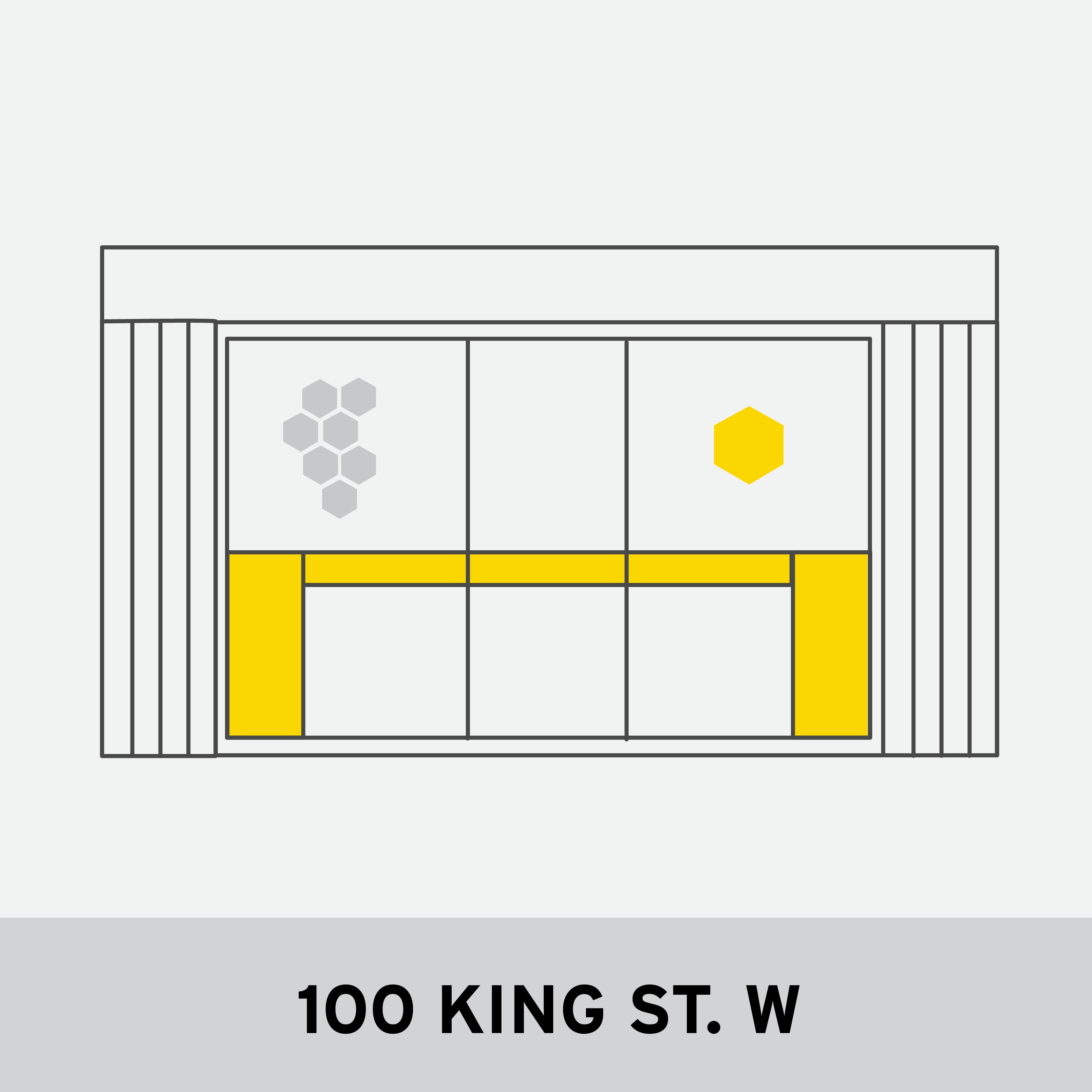 100 KING ST. W