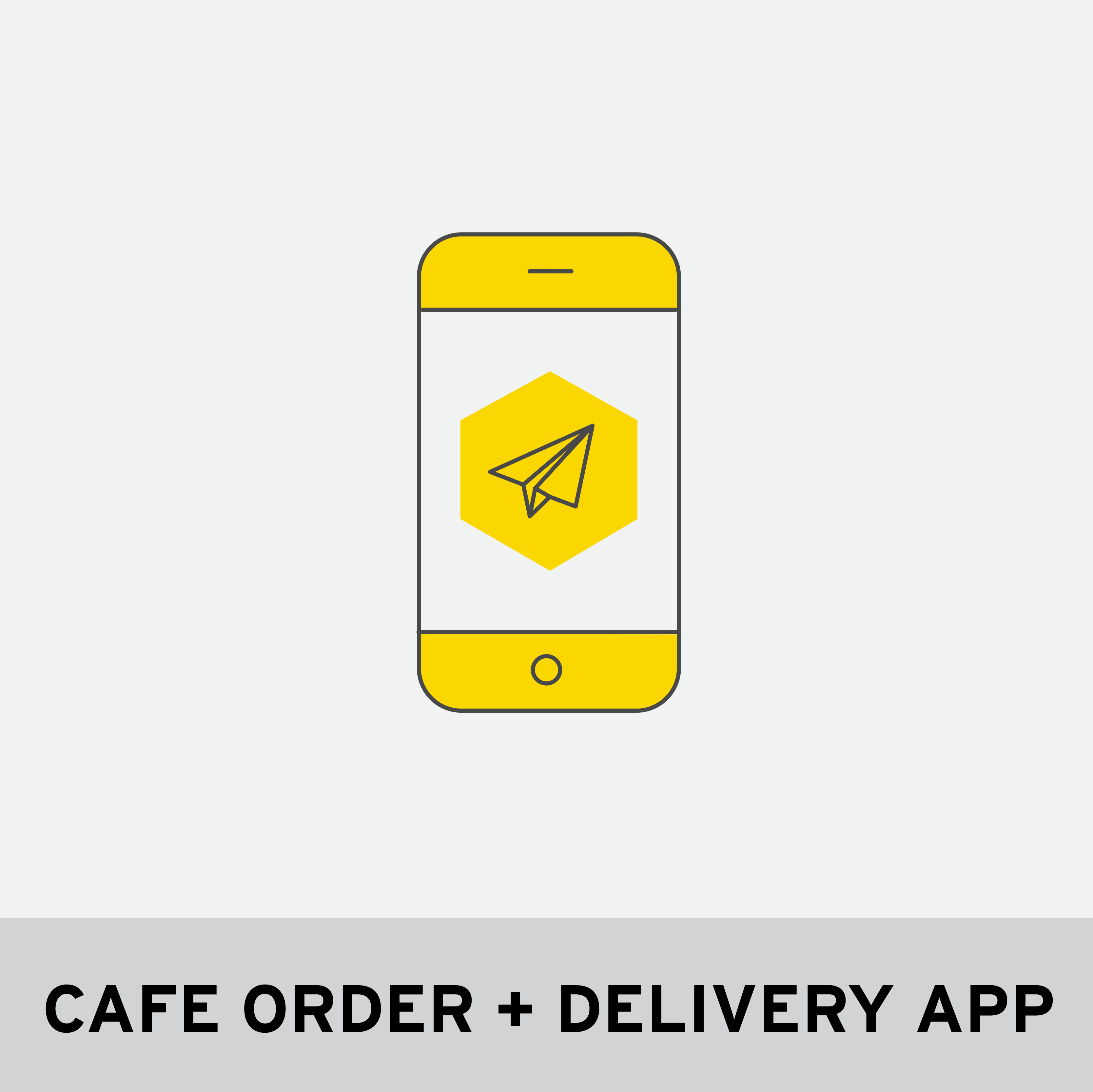 CAFE ORDER + DELIVERY APP