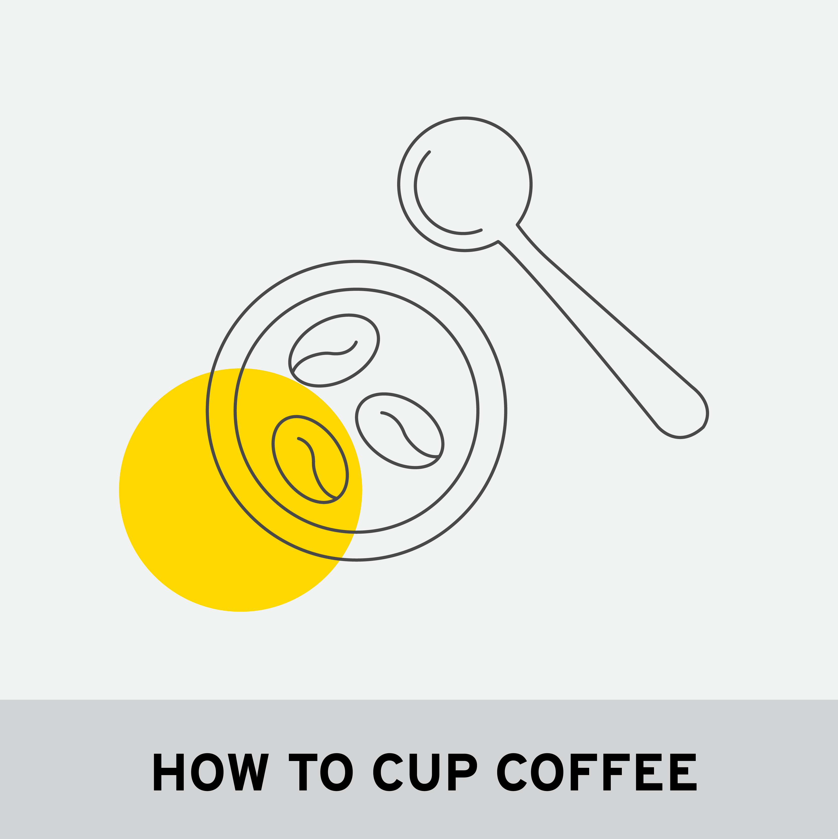 HOW TO CUP COFFEE