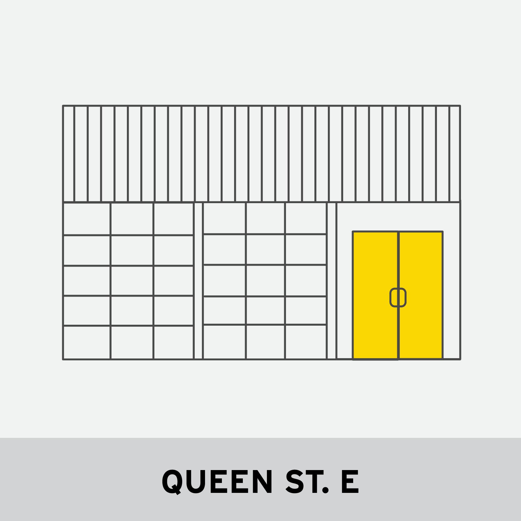 QUEEN ST. E