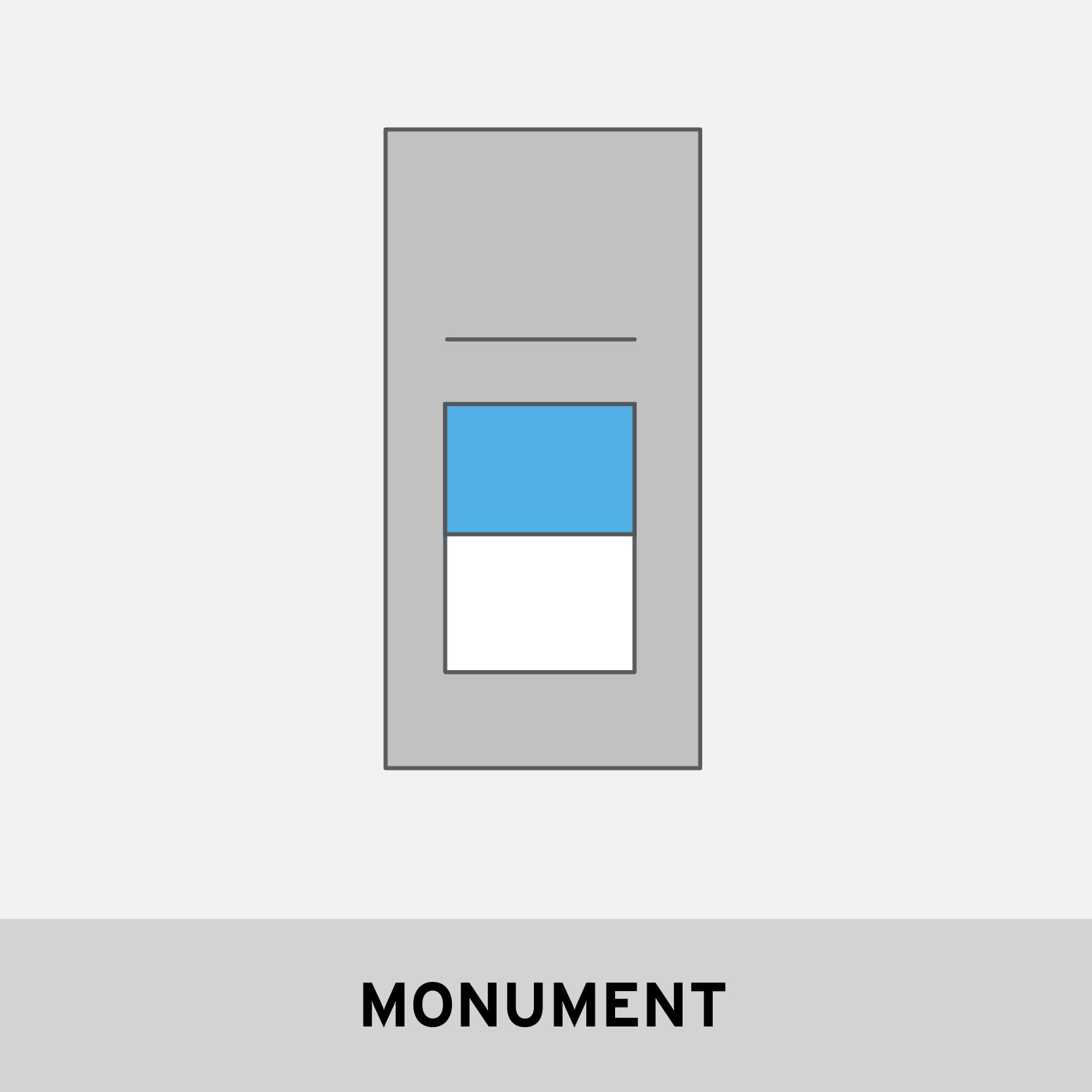 MONUMENT PARAMETERS