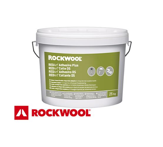 Adeziv ROCKWOOL REDArt Collante DS pentru lipire termosistem cu vata bazaltica pe suport din lemn, OSB, PAL, CLT
