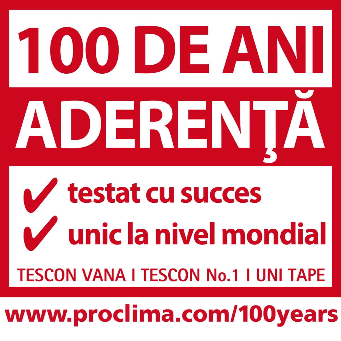 Aderenta 100 de ani