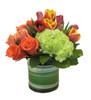 Perfect Trio- Orange Bouquet