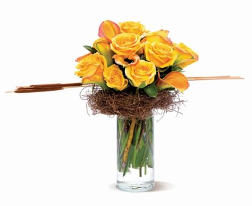 Contemporary Golden Bouquet