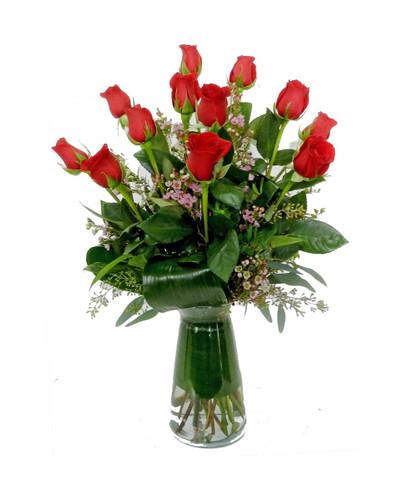 Signature Dozen Rose Arrangement