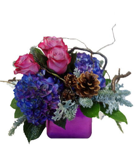 Winter Jewel Arrangement