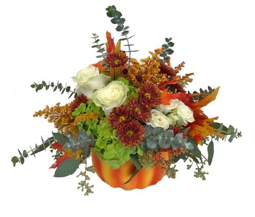 Fall Pumpkin Arrangement
