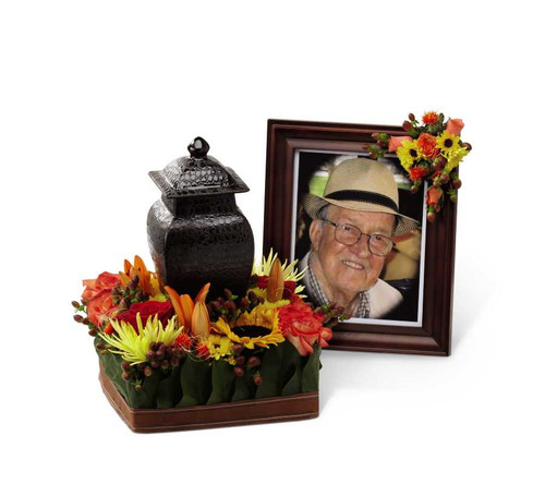 Glorious Tribute Funeral Flower Arrangement
